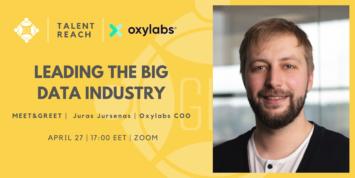 Leading the Big Data Industry speaker